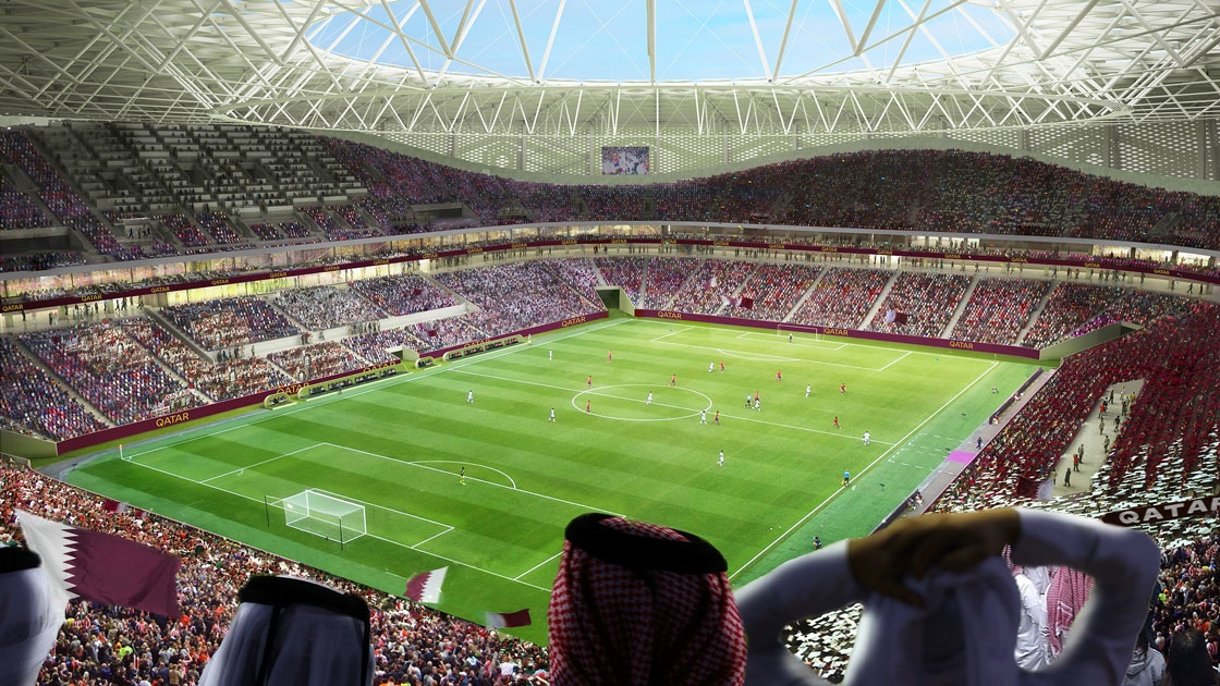 Construction media solution for Al Thumama Stadium