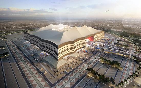 Al Bayt Stadium Construction Camera