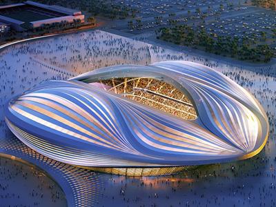 Al Wakrah Stadium - Worldcup Qatar