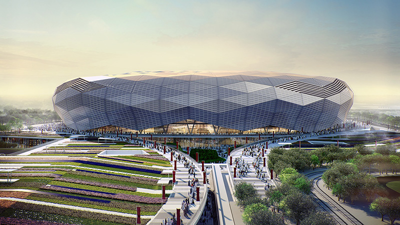 Construction Medi Solution for Qatar Foundation Stadium